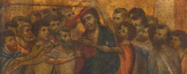 La pintura fue reconocida como una obra maestra medieval por Philomène Wolf. (Actéon Hôtel des Ventes de Senlis)