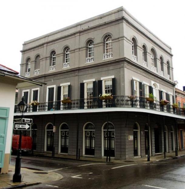 La residencia LaLaurie en 1140 Royal Street, Nueva Orleans, fotografiada en septiembre de 2009. (Dropd / /CC BY SA 3.0)