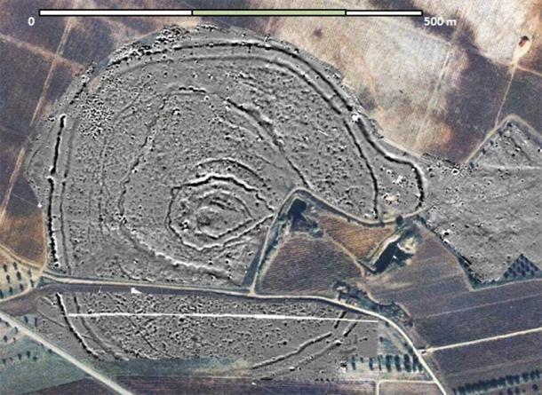 """El gran complejo de la Edad de Piedra en Portugal, donde se descubrió recientemente el """"Woodhenge"""" neolítico de Perdigões. (Programa de investigación Perdigões)"""