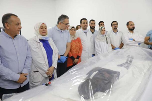 Las momias serán restauradas y exhibidas. (Ministerio de Antigüedades)
