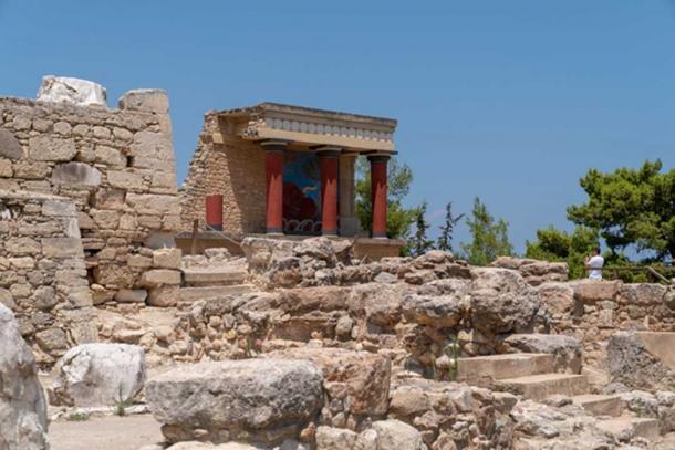 Las ruinas del palacio de Cnosos, hoy en día. (Ioannis Syrigos)