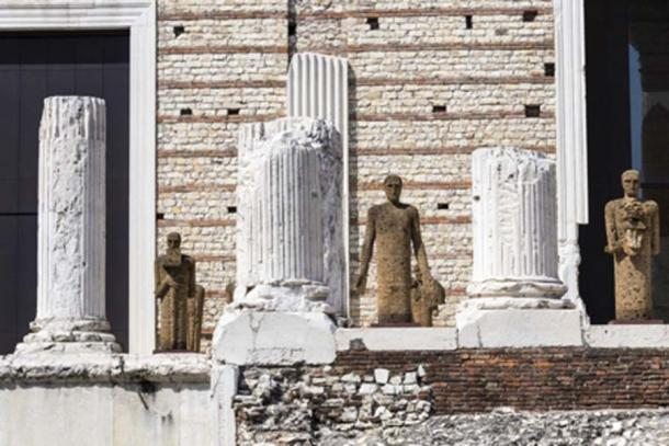 Las ruinas del templo principal (J. Ossorio Castillo/ Adobe Stock)