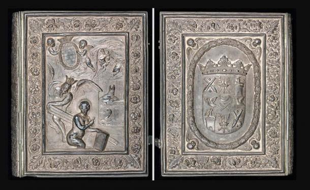 Magnus Gabriel De la Gardie encargó la lujosa portada plateada del Codex Argenteus. (Biblioteca de la Universidad de Uppsala / Dominio público)