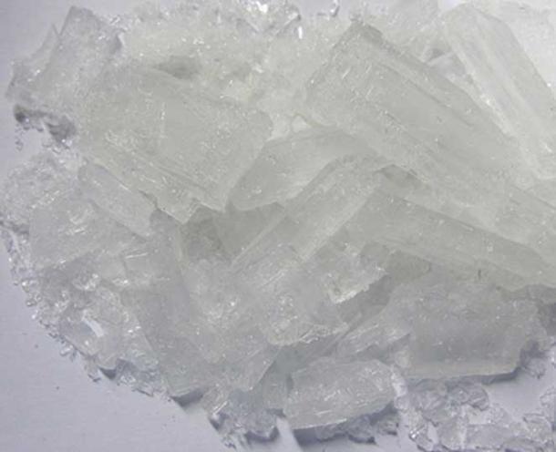 Acetato de plomo (II), también conocido como azúcar de plomo. (Químico de dormitorio / CC BY 3.0)