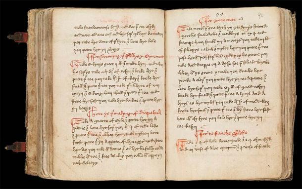 El Leechbook de Bald es un texto médico anglosajón, uno de los manuscritos médicos sobrevivientes más antiguos en inglés. Está lleno de remedios que proporcionan pistas a los investigadores que buscan formas de combatir las infecciones resistentes a los antibióticos. (Wellcome Trust / CC BY-4.0)