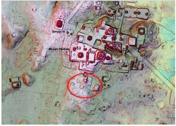 La tecnología LiDAR está revelando restos de la arquitectura de Tikal que estaban literalmente ocultos a la vista. (Iniciativa Pacunam LiDAR / Thomas Garrison)