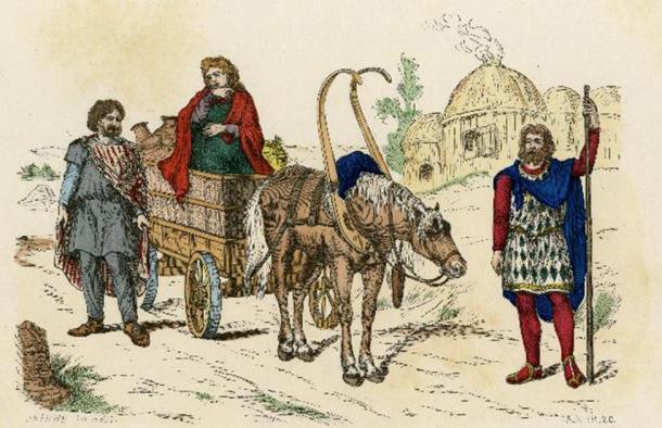 Locusta vivía en Galia antes de que fuera capturada por los romanos en el año 54 DC. (Archivist / Adobe Stock)
