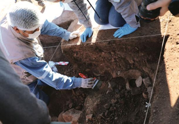Los arqueólogos descubren embarcaciones en el sitio arqueológico de Tiwanaku. (Ministerio de Culturas y Turismo de Bolivia)