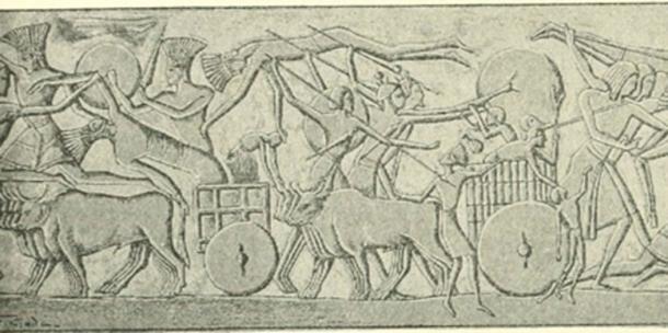 """Imagen de la página 129 de """"Los filisteos: su historia y civilización"""", 1913 (Imágenes de libro de archivo de Internet / flickr)"""