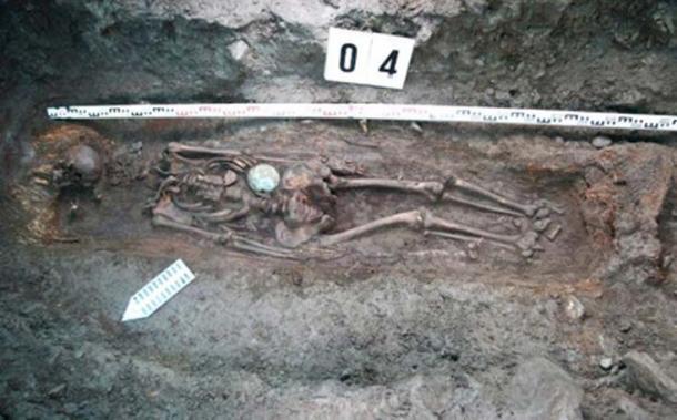 Los restos de una mujer guerrera de 5 pies 10 (1,80 m) han sido desenterrados en Mongolia. (Artur Kharinsky / Los tiempos siberianos)