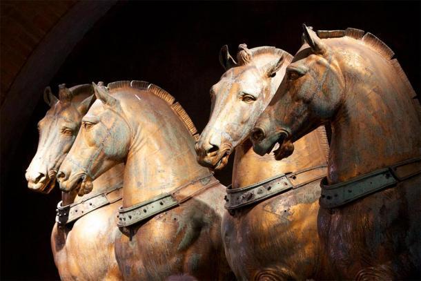 Los magníficos caballos de bronce de la Basílica de San Marcos. (Nick Thompson / CC BY-NC-SA 2.0)