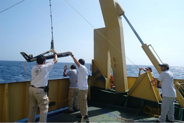 Los arqueólogos marinos están empezando a realizar la búsqueda del naufragio de Juncal en el Golfo de México. (Instituto Nacional de Antropología e Historia de México)