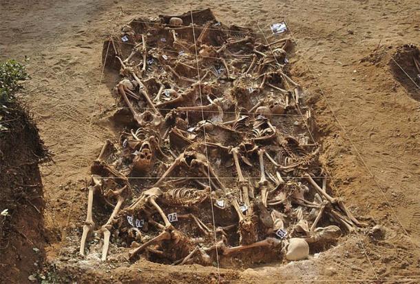 Las fosas comunes eran una forma común de deshacerse de las víctimas de la peste. (CC BY-SA 4.0)