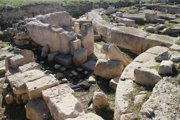 Ruinas megalíticas de Tas-Silġ, Triq Xrobb l-Għaġin en Marsaxlokk, Malta. (Zugraga / CC BY SA 4.0)
