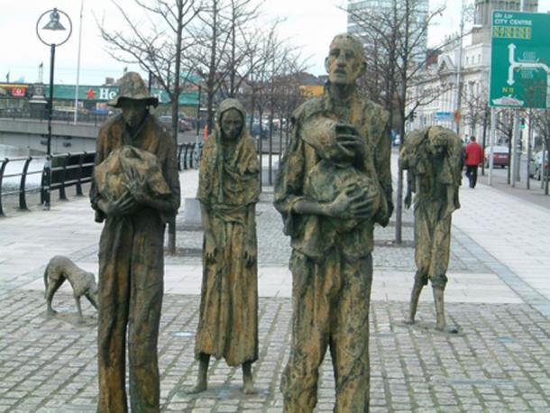 Memorial del hambre en Dublín. (Béka ~ commonswiki / Dominio público)