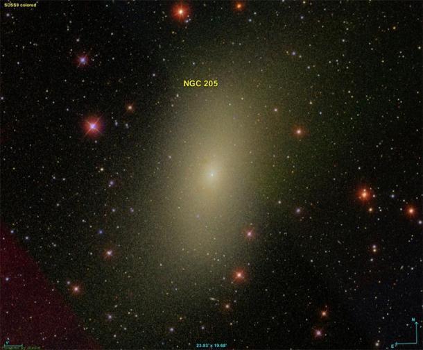 Carolina Herschel observó Messier 110 en 1783. (Donald Pelletier / CC BY-Sa 4.0)