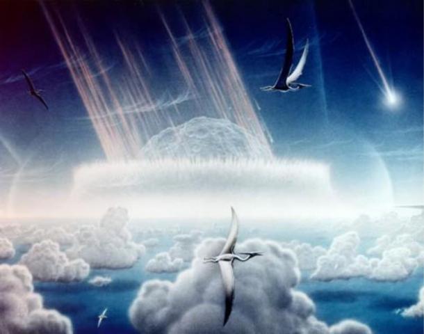 Si los meteoritos causaron la formación del vidrio, ¿dónde están los cráteres de impacto? Fuente de la imagen: Wikipedia