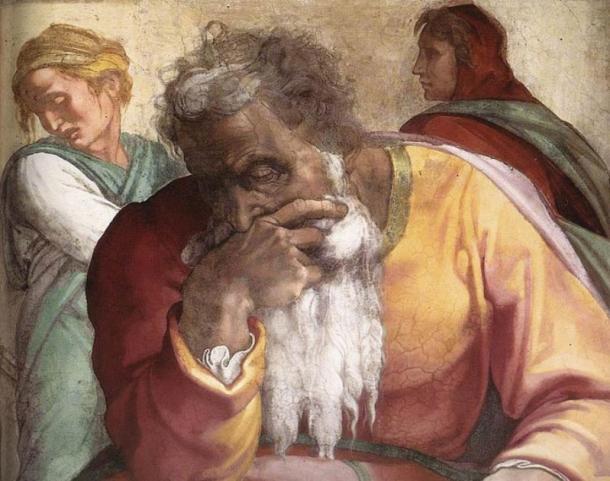 La representación de Miguel Ángel de Jeremías. (Miguel Ángel / Dominio público)