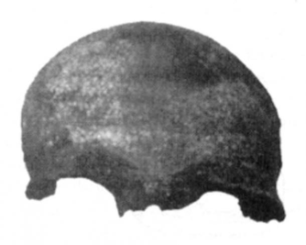 """Este cráneo humano """"moderno"""" encontrado en Buenos Aires podría tener 1,5 millones de años. (Autor proporcionado)"""