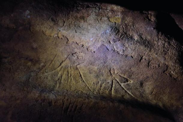 Más arte rupestre encontrado la Cueva Mayor de La Fuente cerca de l'espluga de Francolí. (Generalitat de Catalunya)