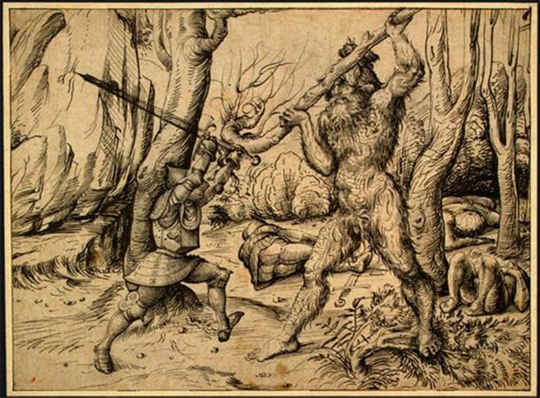 ¿El mito de los Basajaun nació de un contacto real con algunos de los últimos neandertales que quedan del mundo antiguo? (Dominio público)