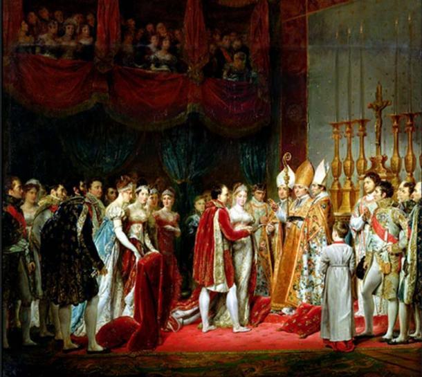 El matrimonio de élite de Napoleón I y la archiduquesa Marie-Louise. (FDRMRZUSA / Dominio público)