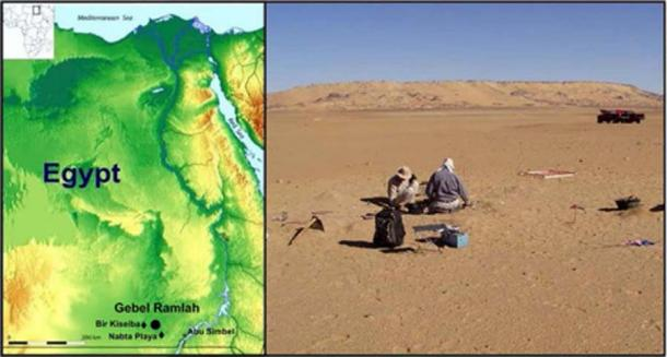 Sitio de excavación neolítica. (Autor proporcionado / La conversación)