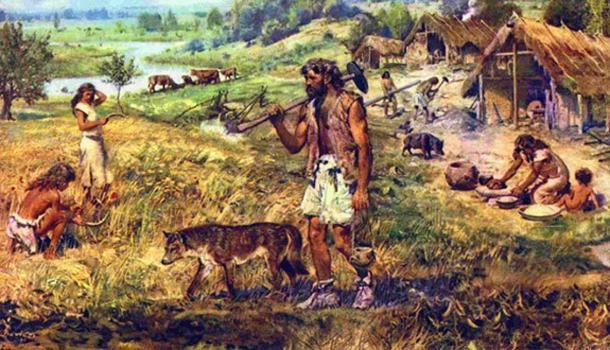 Agricultores neolíticos. (Fuera de los bosques)
