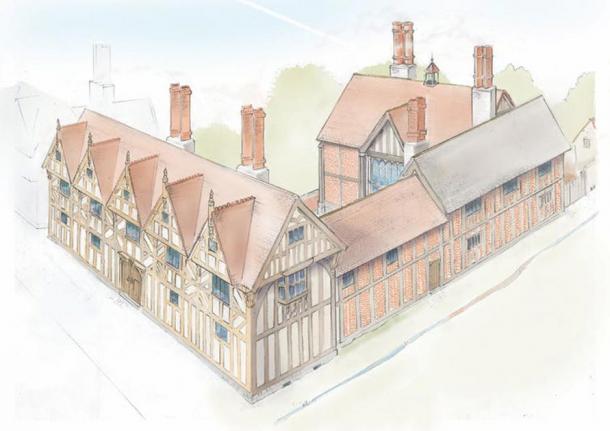 Nuevo lugar, reconstrucción del artista. Phillip Watson, autor proporcionado (sin reutilización)