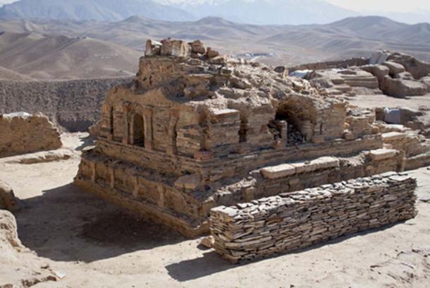 Estupa budista recién excavada en Mes Aynak. (CC BY-SA 2.0)