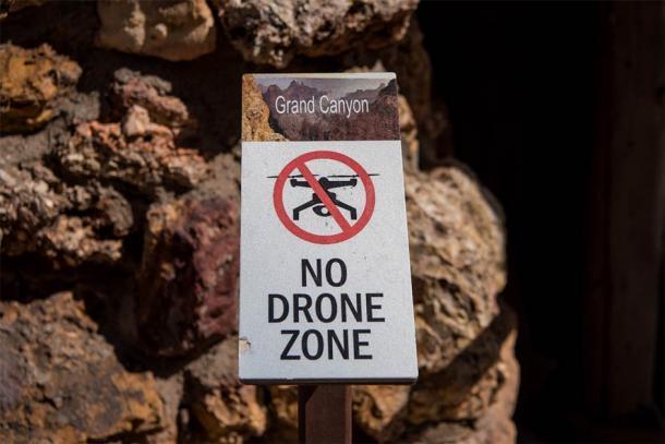 No hay zona de drones en el Gran Cañón. (Kellyvandellen / Adobe Stock)