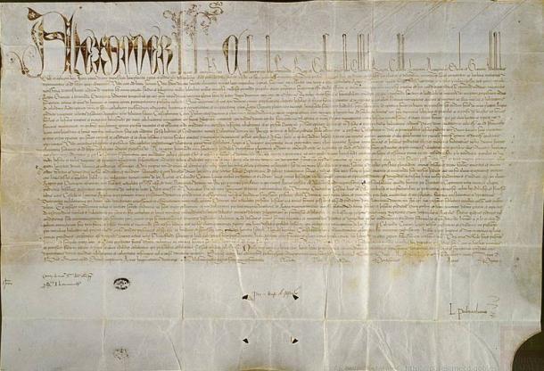 El 4 de mayo de 1493, el Papa Alejandro VI emitió una bula papal que concedía a España los derechos sobre las tierras recientemente descubiertas por Cristóbal Colón y pedía la evangelización de los pueblos indígenas de América. (Dominio público)