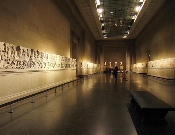 Los mármoles del Partenón son parte de un friso de 525 pies (160 metros de largo). (Solipsista ~ commonswiki / CC BY-SA 2.0)