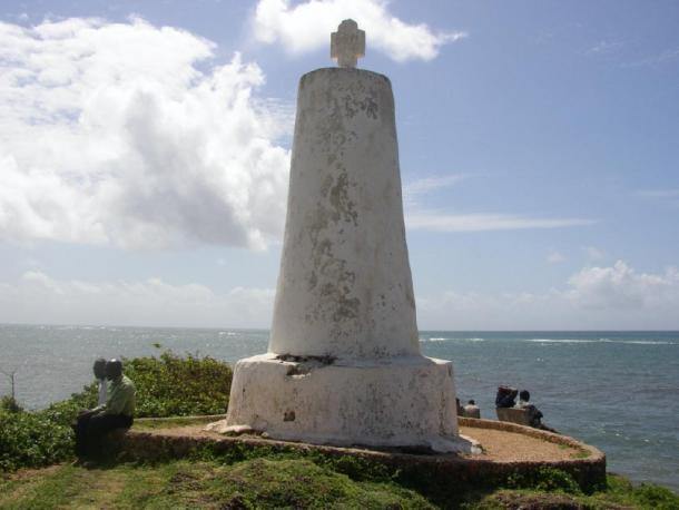 Pilar de Vasco da Gama en Malindi, en la actual Kenia, erigido en el viaje de regreso. (Mgiganteus / CC BY-SA 3.0)