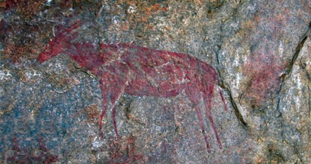 Pintura rupestre nsongezi (visitankole.com)