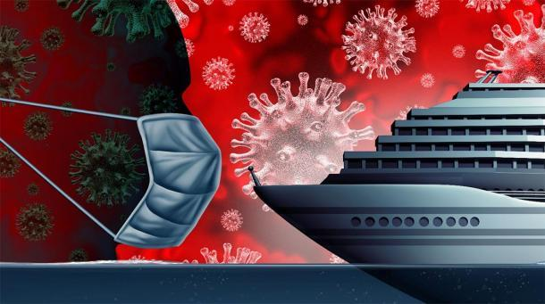 El coronavirus plaga los cruceros. Crédito: freshidea / Adobe Stock