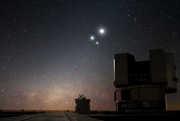 Las conjunciones de planetas tienen años de meta, donde la luz vence a la oscuridad. (Stas1995 / CC BY-SA 4.0)