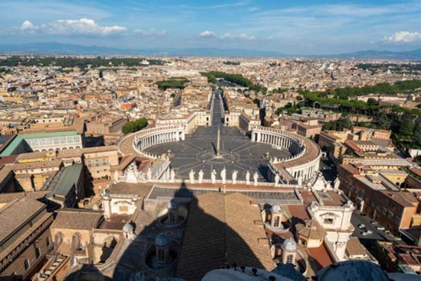 Vista de la Plaza de San Pedro, Ciudad del Vaticano. Crédito: Ioannis Syrigos.