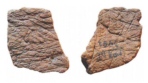 Fragmentos de cerámica encontrados en el sitio de Gromatukha. (Imagen: Oksana Yanshina / Science Direct)