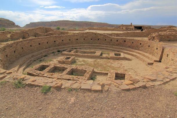 Ruinas de Pueblo Bonito en Chaco Cañón, Nuevo México, Estados Unidos. (eickys/ Adobe stock)