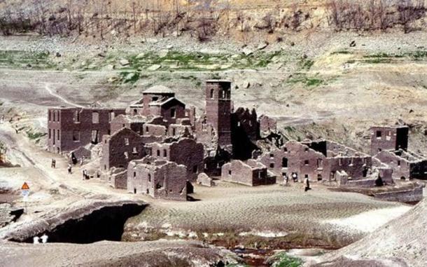 El pueblo del siglo XIII estuvo libre de agua por última vez en la década de 1940. (Viaggio Routard Flickr/ CC BY 2.0)