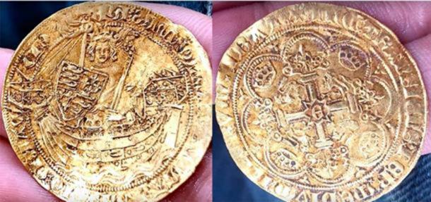 12 monedas excepcionalmente raras fueron parte del hallazgo Hambleden Hoard. (Paul Cee / YouTube)