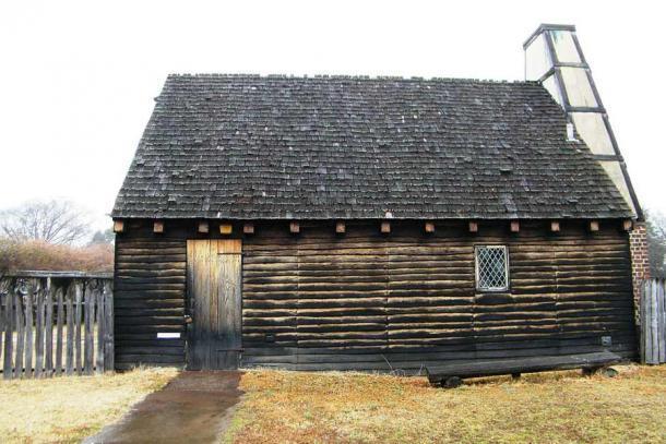 Una casa colonial temprana reconstruida en el sitio histórico de Santa María en Maryland, EE.UU. (Sarah Stierch / CC BY 2.0)