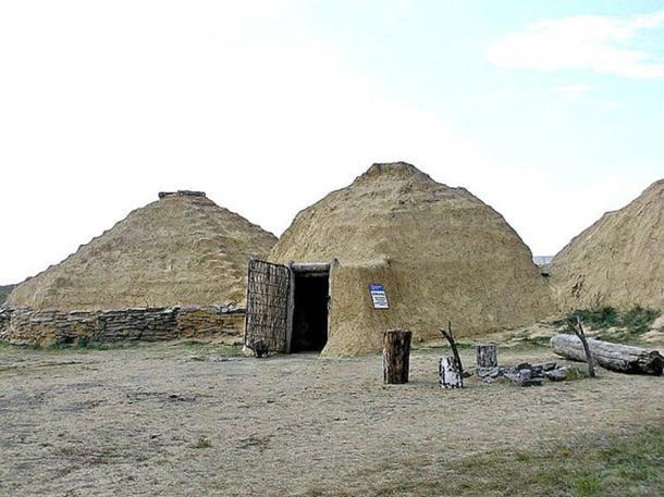 Reconstrucción de una casa prehistórica en Arkaim. (Kudrjashov Andrey / CC BY SA 3.0)