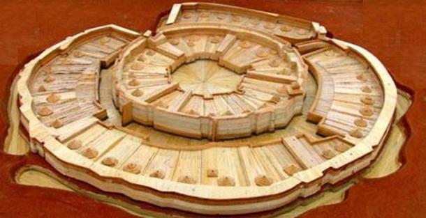 Reconstrucción de la ciudadela de Arkaim. (sabiduría antigua)