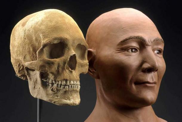 Reconstrucción de la momia. (friendsofpast.org)