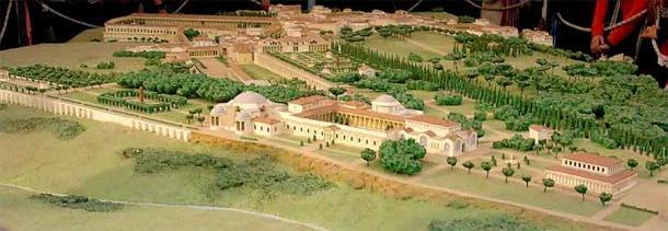 Una reconstrucción de la Villa de Adriano. (El cargador original fue Guilhem06 en Wikipedia en francés. / CC BY-SA 1.0)