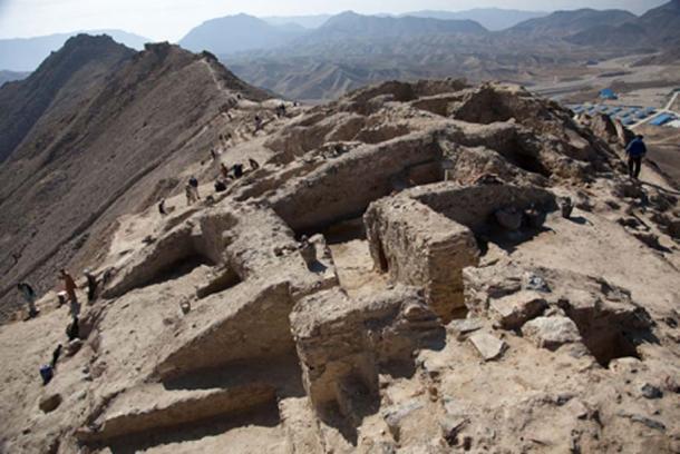 Restos de un monasterio budista en Mes Aynak. (CC BY-SA 2.0)