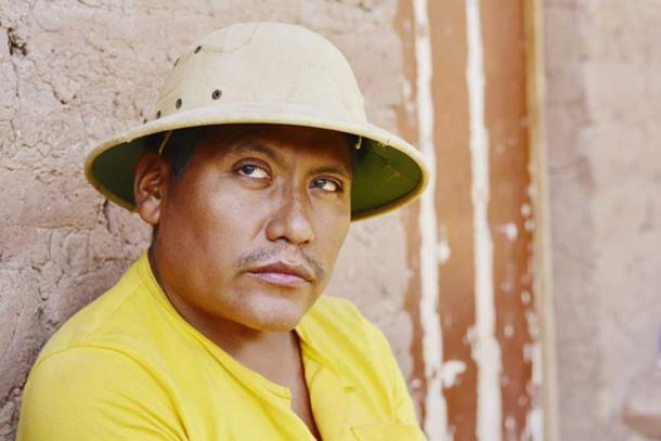 Representación de Pablo Andrade: la última persona restante que conoce el idioma Resigaro. (ruslanita / Adobe)