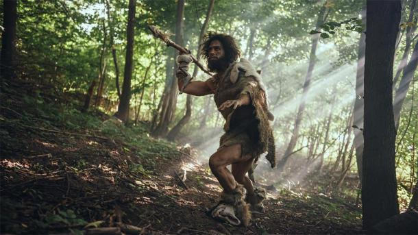 Representación de los primeros cazadores-recolectores humanos, antes del desarrollo de la antigua agricultura. (Stock Gorodenkoff / Adobe)